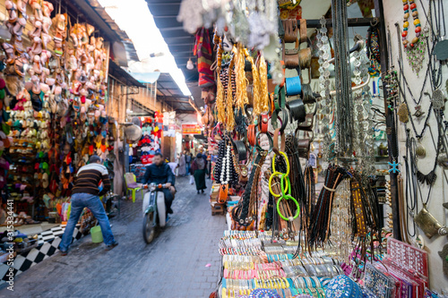 Photo Market in old town of Marrakech, Morroco
