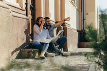 Tourists Exploring City Outdoo...