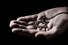 The Star Of David In The Hand ...
