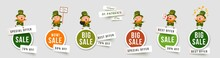 Saint Patricks Day Sale Isolat...
