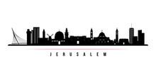 Jerusalem Skyline Horizontal B...