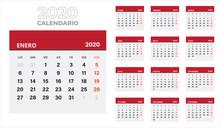 Calendario Escritorio Español...