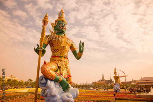 Leinwand Poster THAILAND BANGKOK ROYAL BARGE EXHIBITION