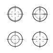 Target Vector icon illustration. Flat design style. vector target icon illustration isolated on White background