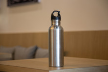 Aluminum Bottle Water Placed O...