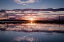 Spectacular Landscape With Sun...