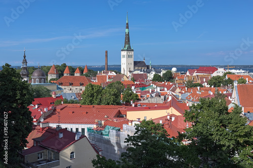 Tallinn, Estonia Canvas Print