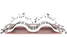 The Piano Keyboard Movement In...
