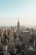 view and landscape of cityscape of new york