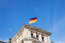 Germany, Berlin, German Flag O...