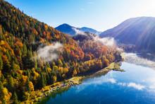 Germany, Bavaria, Lenggries, S...