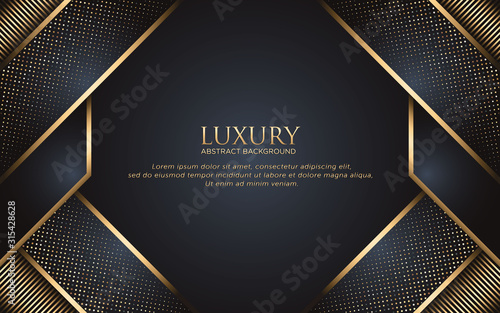 Luxury Template Background With Geometric Shape