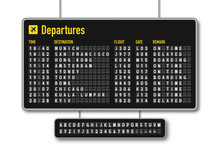 Departure And Arrival Board, A...