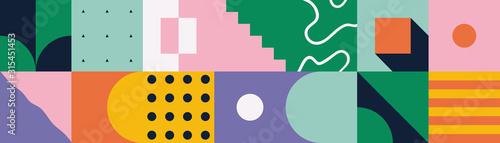 Fotomural Neo Modernism Artwork Pattern Design