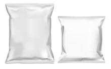 Food Snack Pillow Bag Mock Up....