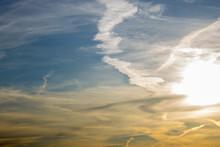 Beautiful Evening Sky At Sunse...