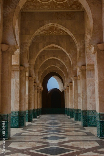 Fototapeta arkady   luki-meczetu