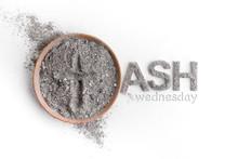 Ash Wednesday, Crucifix Made O...