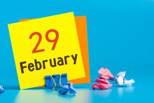 February 29th. Calendar For Fe...