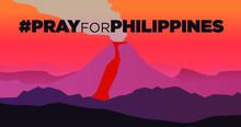 Taal Volcano Eruption, Pray Fo...