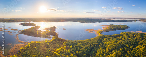 Obraz National park Braslau Lakes, Belarus - fototapety do salonu
