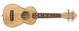 Wooden ukulele Front view 3D