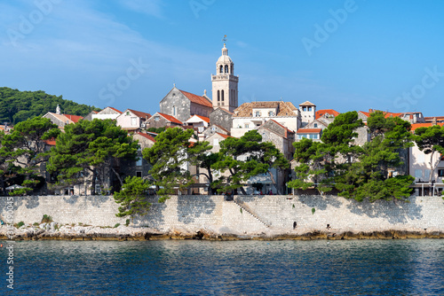 Fotografie, Tablou  Korcula, Croatia - popular resort in the Adriatic