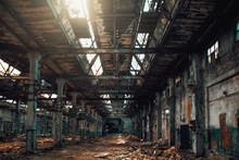 Abandoned Creepy Factory Wareh...