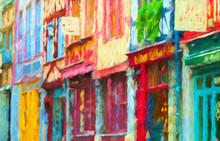 Impressionnisme. Rouen, Maison...