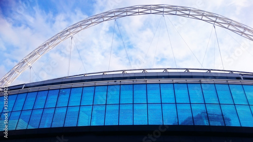 Canvas Print Wembley Stadium exterior