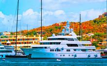 Scenery With Marina And Luxury...