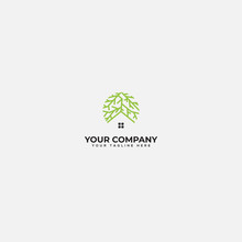 Root And Home Logo, Green Hous...