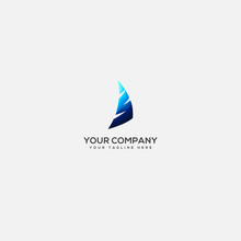 Sail Logo Design, Sailing With Letter S Logo