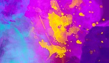 Vibrant Colorful Abstract Wate...