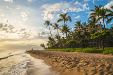Scenery At Kaanapali Beach In ...
