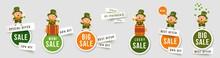 Saint Patricks Day Sale Isolat...