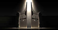 Heavens Gates Spotlit
