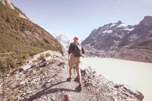 Fototapeta Hike in Patagonia obraz