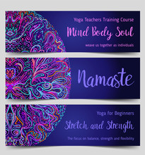 Yoga Card, Flyer, Poster, Mat ...