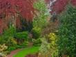 canvas print picture English Spring Garden