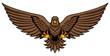 Golden Eagle Attack Mascot