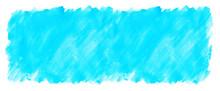 水色の水彩絵の具塗っ...