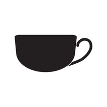 Black Cup For Tea And Coffee I...