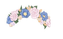 Flower Crown. Diadem Head Wrea...