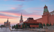 Kremlin And Red Square In Mosc...