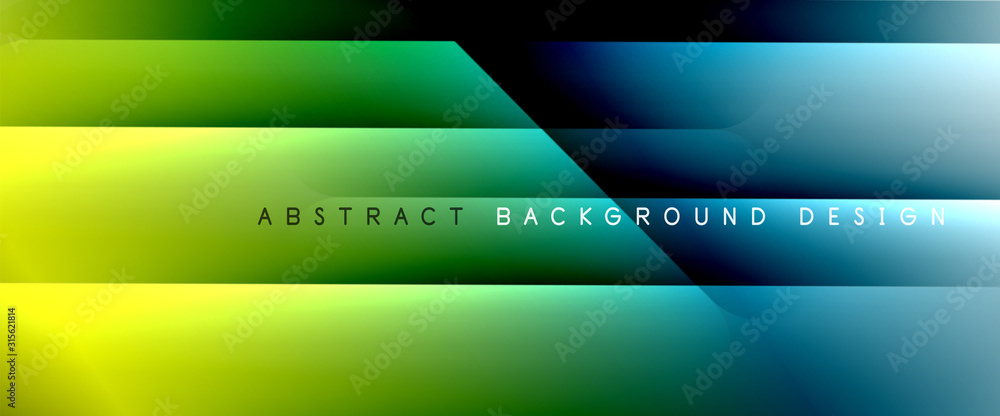 Fototapeta Trendy simple fluid color gradient abstract background with dynamic straight shadow line effect. Vector Illustration For Wallpaper, Banner, Background, Card, Book Illustration, landing page