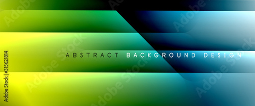 Obraz Trendy simple fluid color gradient abstract background with dynamic straight shadow line effect. Vector Illustration For Wallpaper, Banner, Background, Card, Book Illustration, landing page - fototapety do salonu
