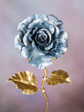 Man Made Metal Unfading Rose