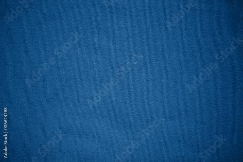 Stampa su Tela Background texture pattern Blue tone fabric.
