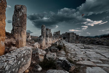 Ruins Of Hierapolis Ancient Ci...